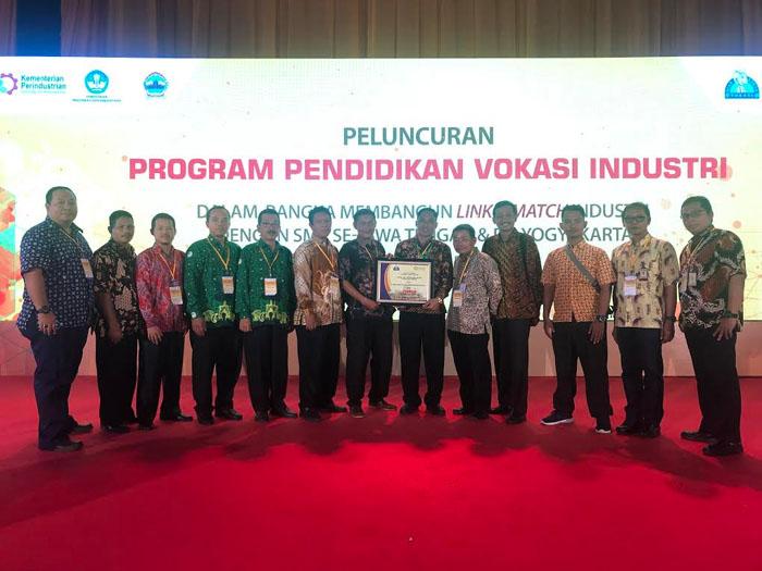 Yamaha Indonesia Aktif   dukung perkembangan SMK melalui Program Vokasi Pemerintah